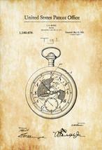 Pocket Watch Patent 1916 - Patent Print, Watch Art, Pocket Watch, Vintag... - $9.99+