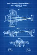 Aerial Machine Patent Print - Airplane Blueprint, Vintage Aviation Art, ... - $9.99+
