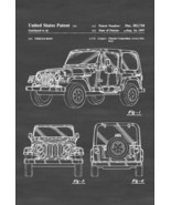 Jeep Wrangler Patent - Patent Print, Wall Decor, Automobile Decor, Autom... - $9.99+