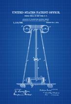 Tesla Electricity Transmitter Patent 1914 - Patent Prints, Tesla Inventi... - $9.99+