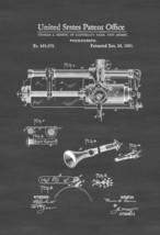 Edison Phonograph Patent 1891 - Patent Print, Edison Invention, Gramopho... - $9.99+