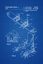 Snowboard Patent - Patent Print, Wall Decor, Ski Lodge Decor, Ski Decor,... - $9.99+