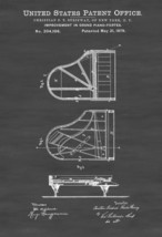 Steinway Piano Patent - Patent Print, Wall Decor, Music Poster, Musical ... - $9.99+