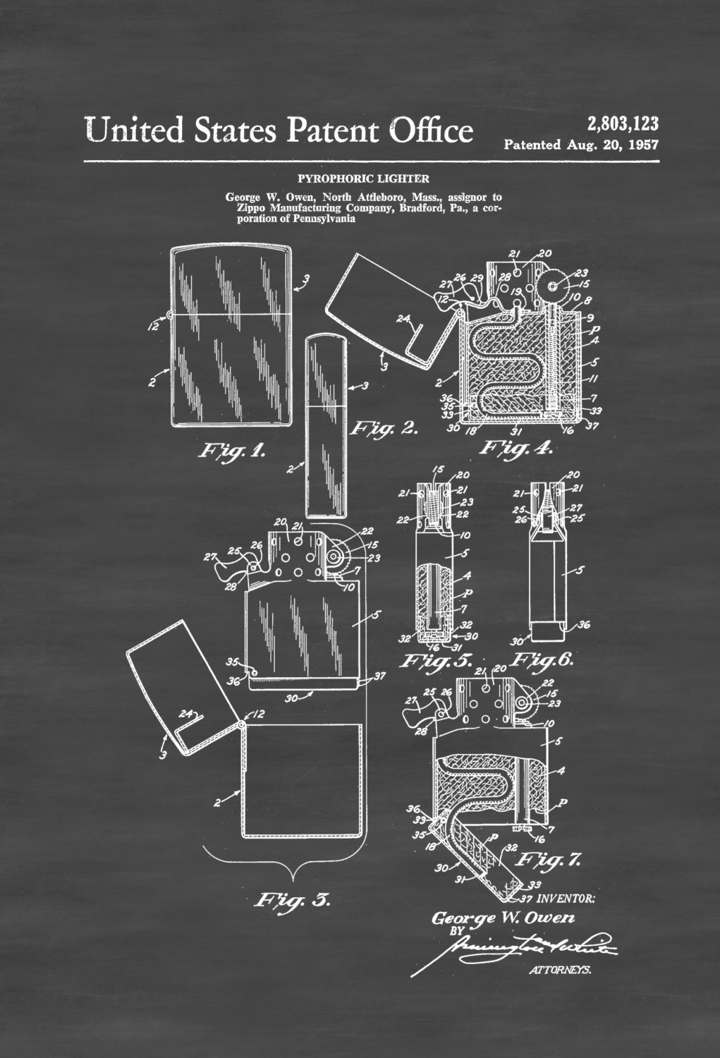 Eagle Torch Lighter Assembly Diagram