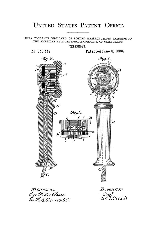 telephone patent