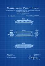 Hohner Harmonica Patent - Patent Print, Wall Decor, Music Poster, Music ... - $9.99+