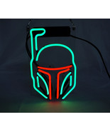 TN023 Boba Fett Star Wars Jedi Home Bar Decor Real Neon Light Sign 10X7 Hot - $89.00