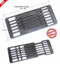 Gas Grill Cooking Grate Iron Grid Brinkmann Charmglow BBQ Replacement Gr... - €33,02 EUR