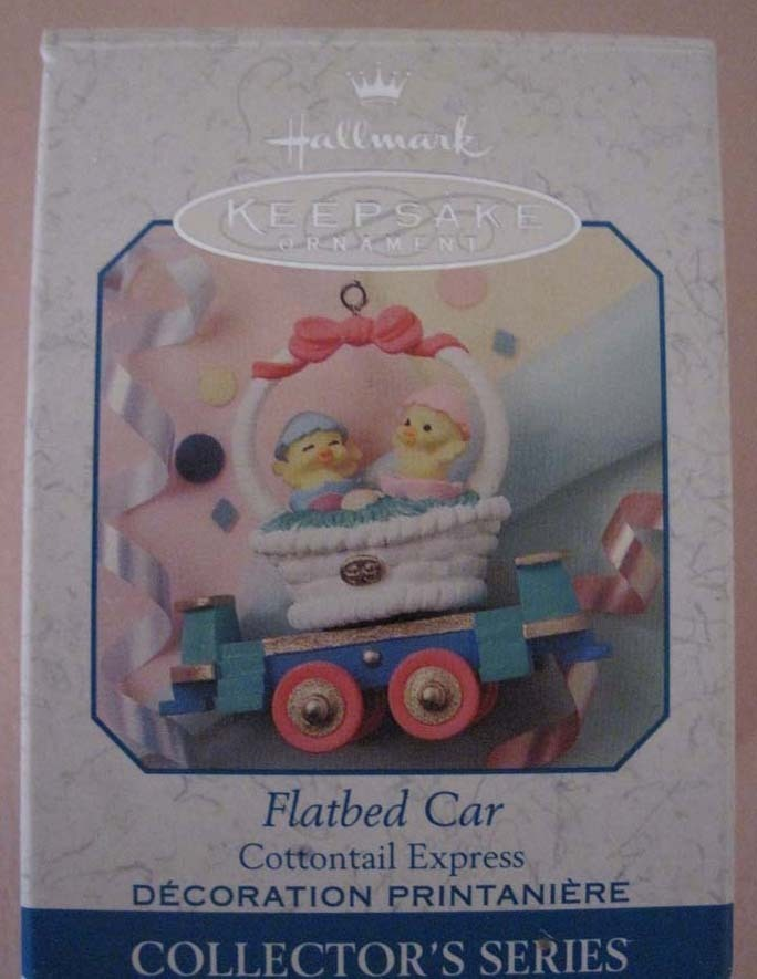 Cottontail Express Keepsake Ornaments Hallmark Collectors Series 1999
