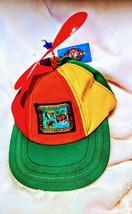 Intersteller Propeller Hat,new,patch work San Diego Zoo,Multi Color,Elas... - $41.39