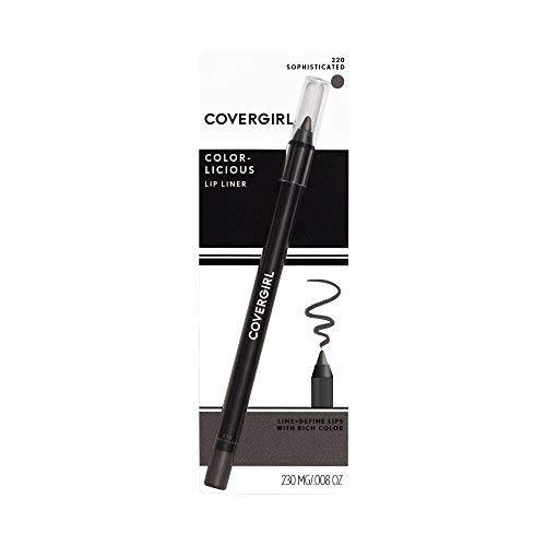 COVERGIRL Lip Perfection Lipliner Sophisticated 220, 0.04-Ounce (packaging may v - $4.84