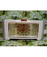 Vintage DIAMOND Shanghai China MANTLE ALARM CLOCK Shelf Clock HARD To FIND - $74.95