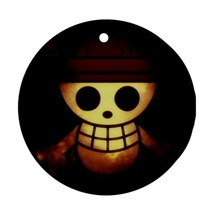 Round Ornaments - One Piece Anime Procelain Ornament (Round) Christmas - $3.99