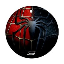 Round Ornaments - Heroes Spiderman Procelain Ornament (Round) Christmas - $3.99