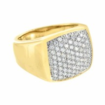 Stainless Steel Mens Ring Wedding Yellow Gold F... - $24.99 - $29.99