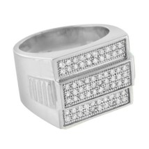 Presidential Style Mens Ring Wedding Engagement... - $24.99 - $29.99