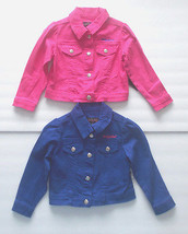 Baby Phat Toddler Girls Purple or Pink Jackets Snap Up Front 2T, 3T and 4T  NWT - $16.24