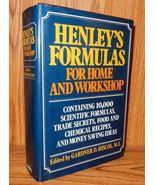 Henley's Formulas for Home and Workshop - $18.95