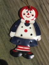 or312 Rageddy Ann Metal Christmas Ornament  - $1.95