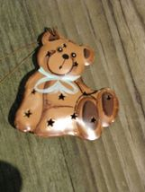 OR314 - 3DPunched Teddy Bear Metal Ornament - $1.95