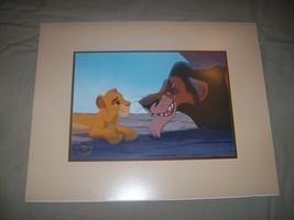 LITHOGRAPH: Lion King Exclusive Commemorative 1994/5 11x14 - $9.99