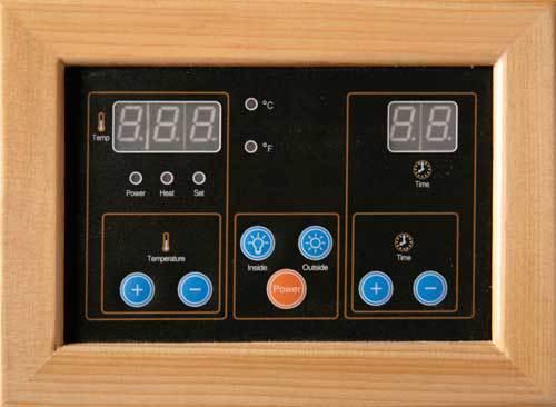 Santa Fe Ultra 3 Person Carbon Infrared Home Sauna