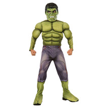 Deluxe Official Marvel Hulk Avengers Age of Ultron Costume Medium 8-10 - $20.78