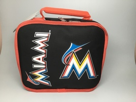 MIAMI MARLINS-INSULATED LUNCHBOX - $14.87