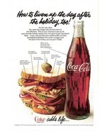 1978 bottle Coca-Cola sandwich advertising print ad - $10.00