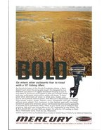1967 Mercury Bold Fishing Merc Florida Everglades print ad - $10.00