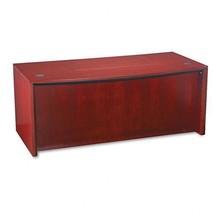 """Mayline Corsica Veneer Bowfront Desk Top - 72""""""""... - $749.99"""