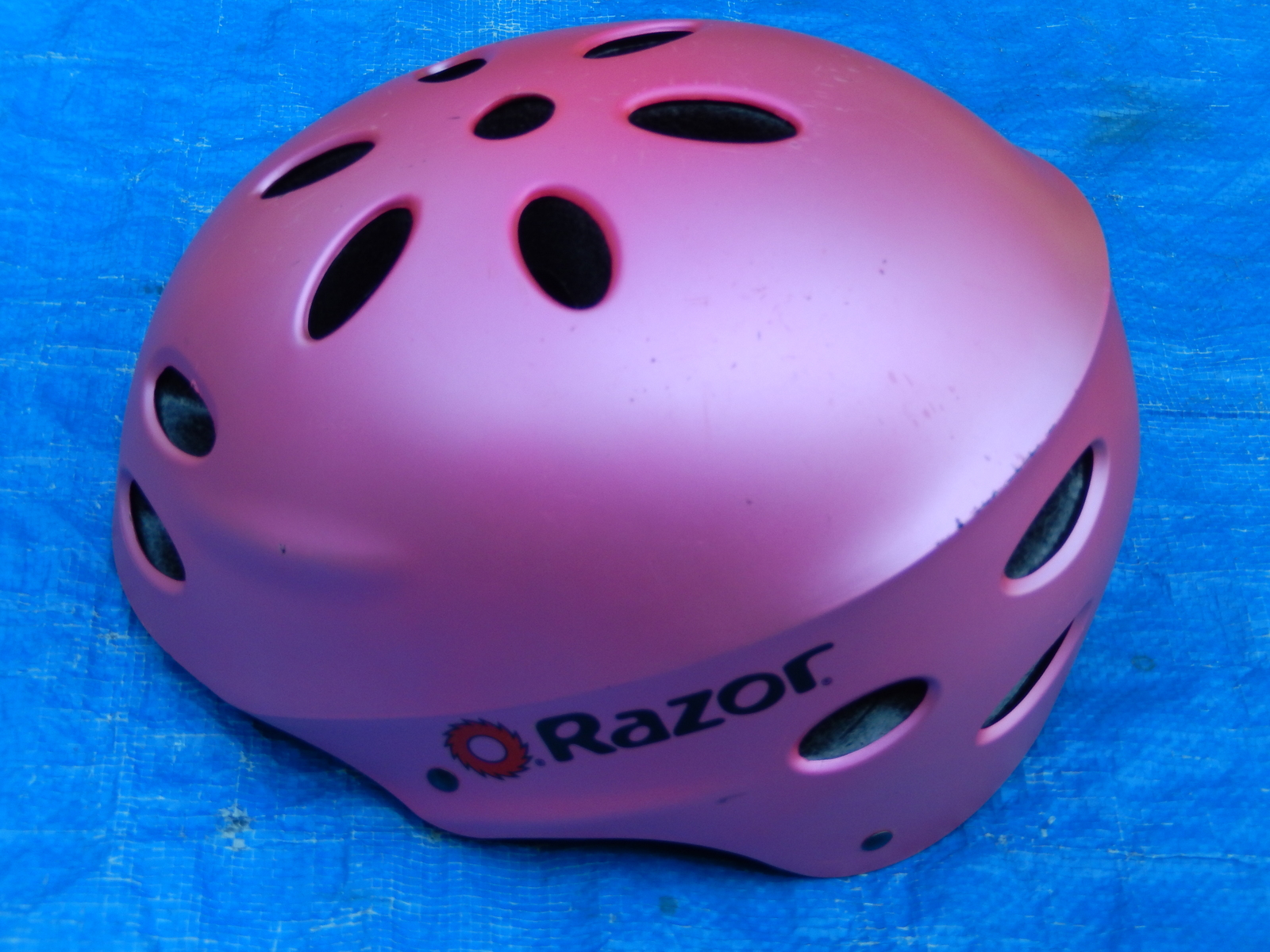 Pink Razor Bike Bicycle Safety Helmet