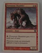 Magic the Gathering Card  Flowstone Shambler - $1.14