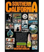 1973 Southern California Best of all World Vacation print ad - $10.00