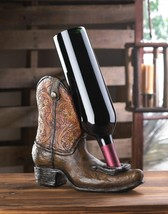 Cowboy Boot Wine Bottle Holder - $29.95
