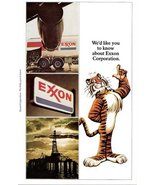 1973 Oil Company Exxon Corporation advertising print ad - $10.00