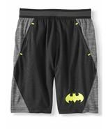 DC Comics Batman Boys Poly Shorts Size Small (6-7) Black Charc Moisture ... - £7.65 GBP