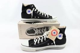 3ea704d8bb0 Vintage 90s New Converse All Star Hi Mens 13 Chuck Taylor Shoes Black US.