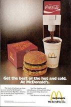 1975 vintage McDonald's Big Mac advertising print ad - $10.00