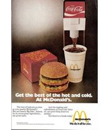1975 vintage McDonald's Big Mac advertising print ad - $10.00