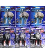 RHINO BLUE/EXTREME 6Pack-12pill combo - $54.99