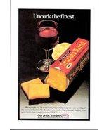 1978 Kraft Cheddar Cheese Extra Sharp Cracker print ad  - $10.00