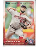 Tanner Roark 2015 Topps Series 1 Future Stars Card #30 - $0.99