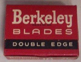 Berkeley Double Edge Safety Razor Blades NOS - $21.99