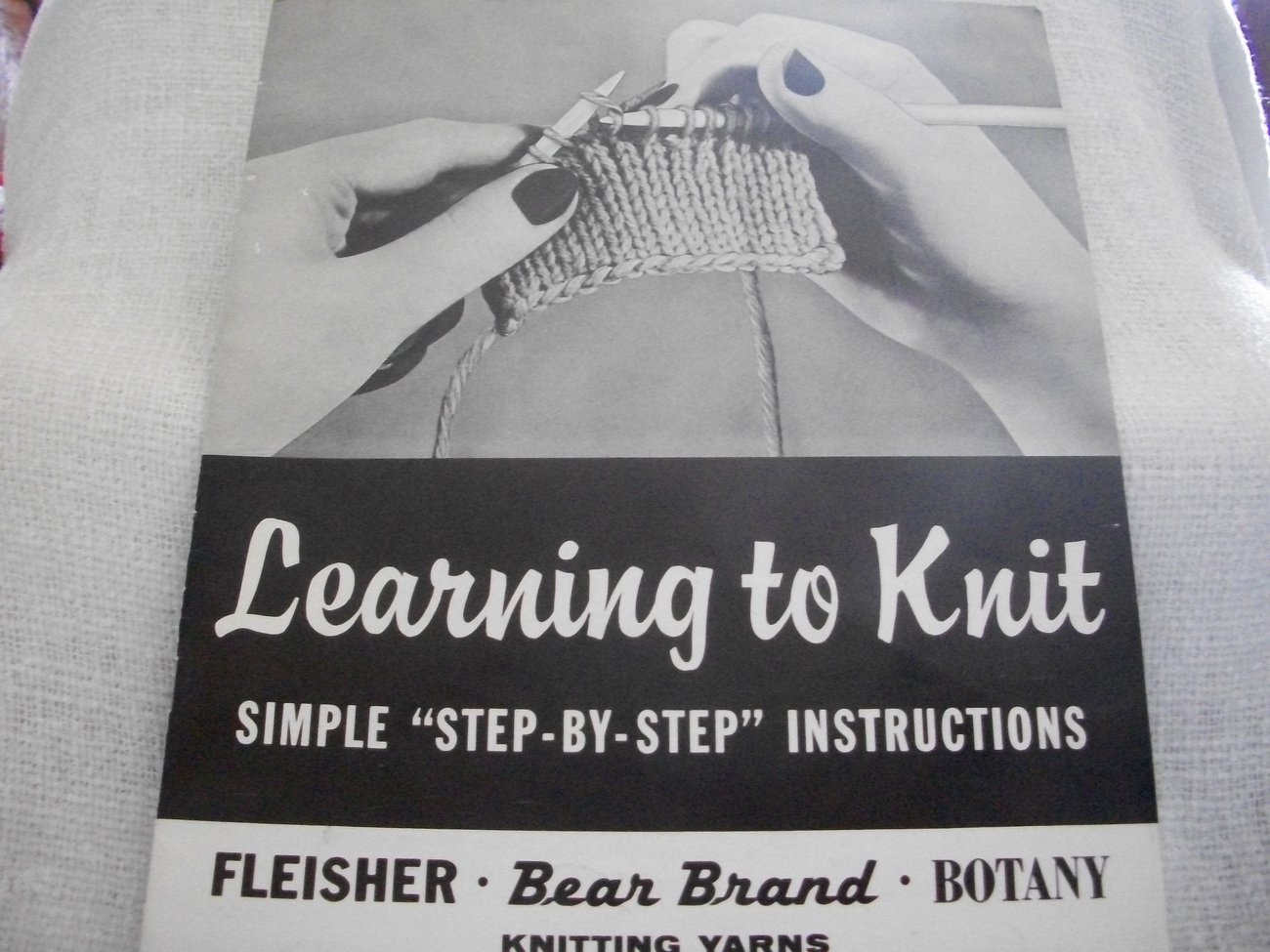 Primary image for Learning to Knit