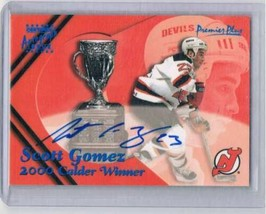 2000-01 Topps Premier Plus Private Signings #CTW1 Scott Gomez Calder NM-... - $22.72
