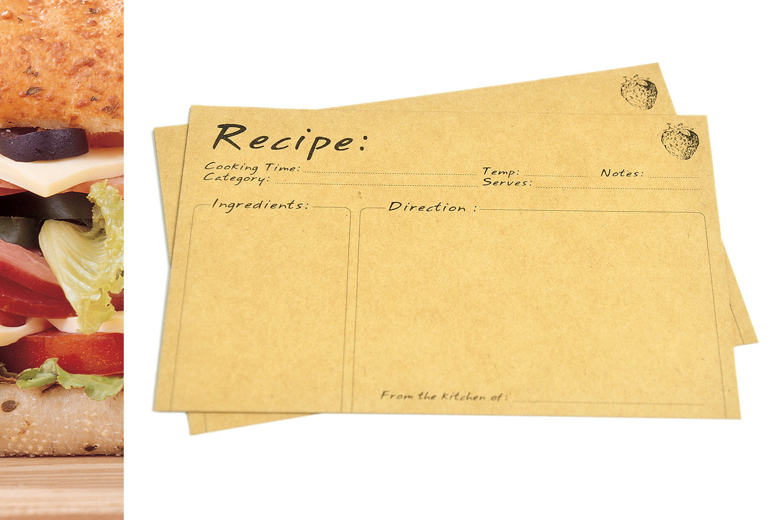 Wedding Gift Recipe Cards : Recipe cards, Bridal Shower cards, wedding gift & invitation, Index ...
