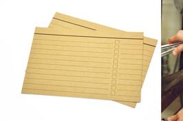 Grocery list, kraft paper 4x6, shopping list, p... - $39.90