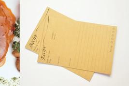 Recipe cards 4x6 inches, kitchen decor, persona... - $39.90