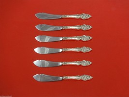 "Vienna by Reed & Barton Sterling Silver Trout Knife Set 6pc. HHWS  Custom 7 1/2"" - $366.80"